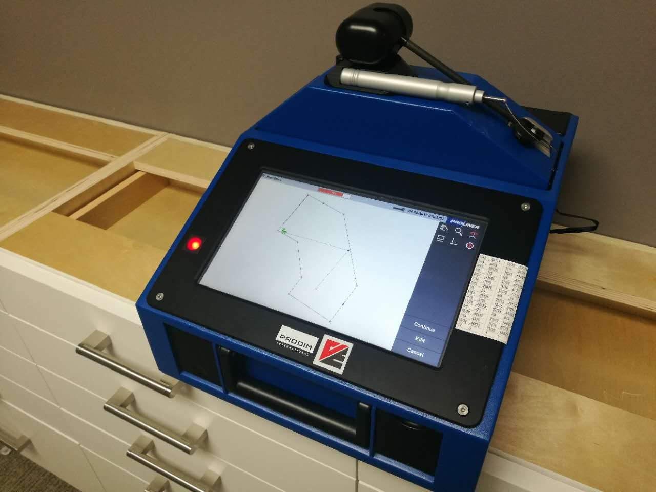 Proliner Measurement Device